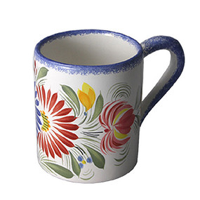 Coffee Mug - Fleuri Royal
