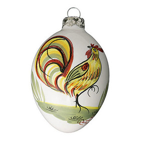 Quimper Ornament Coq - Decor Spirit of Christmas