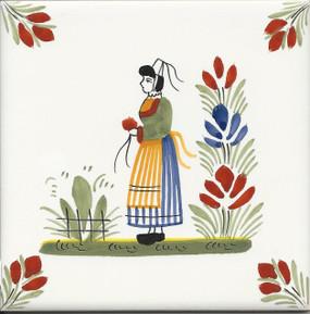 Woman - Henriot Tile