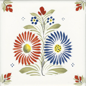 Flowers - Henriot Tile