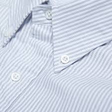 BPS Pin-stripe Oxford S/S Youth Shirt