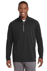 Pullover Sport-Wick Textured 1/4 Zip NW