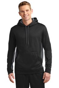 Sport-Wick Fleece Colorblock Hooded Pullover NW