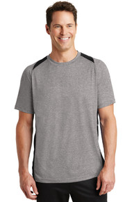 Tee Heather Colorblock Contender V-Neck NW