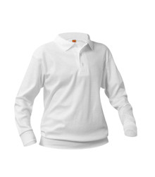 FOA6-12 Unisex Youth  L/S Pique Polo