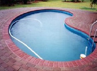 Kidney Shape Pool Liner for Pool World's 9.1m x 4.6m Pool, Australian Made
