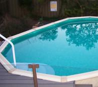 Lindeman Oval Pool - 3.8m Wide x 1.20m Deep