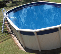Oval Pool Liner 8.15m x 4.5m x 1.37m for Sterns South Seas Pool, Australian Made