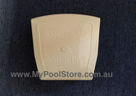 Pool World Square Style Cover Plate