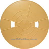 Waterco Nally Deck Lid Beige - S75/SK104 Generic Pool Skimmer Plate