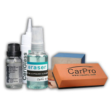 CarPro FlyBy30 Windshield and Glass Coating 20ml Full Kit