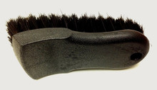Wheel Woolies Leather Upholstery Natural Horse Hair Brush