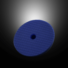 "Scholl Concepts 6 1/2"" Navy Blue Spider Sandwich Pad Innovative Pad Technology The Scholl Concepts Navy Blue Spider Pad utilizes an extremely durable tear resistant foam that is Exclusive to Scholl Concepts and not available to any other manufacturer.  It is a new generation of intelligent polishing pad which combines the advantages of foam with the cooling features of natural lambswool pads. Its The calibrated three-dimensional surface results in a higher cut and better endurance of abrasive particles. The reticulated foam provides a higher air circulation, is designed to resist tearing, and creates less heat generation when polishing, allowing the speed of the machine to be increased to reduce polishing time.  Due to the center hole this foam resists ""foam collapse"" at its core, allowing use on the new generation long throw dual action machines as well as both traditional D/A and Rotary polishers.  Paired with S20 Black and other Scholl Concepts compounds, results are consistently incredible!   Features: High strength tear resistant foam Center hole to avoid ""foam collapse"" Higher cutting rate Less heat generation courtesty of calibrated Spider cuts Specifically designed to compliment the Scholl Concepts range of Compounds Suitable for D/A or Rotary Polisher Specifications:  Made by Scholl Concepts in Germany Cut: 6/8 Very Good Finish: 6/8 Very good Material: High strength reticulated foam Polishing Face Diameter: 6.5 "" (170mm) Thickness: 1"" (25mm) Hook & Loop Diameter: 6"" Color: Navy Blue Velcro Color: Black"