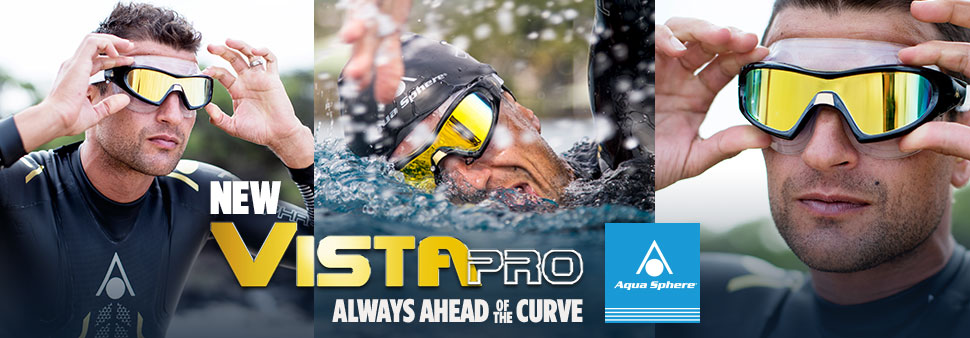 New Vista Pro Swim Goggles by Aqua Sphere