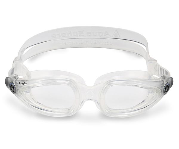 7a1fb603b6 ... Swimming Goggles  Prescription Goggles with Clear Frame from Aqua Sphere  Australia  Rear View of Eagle Corrective Lens ...