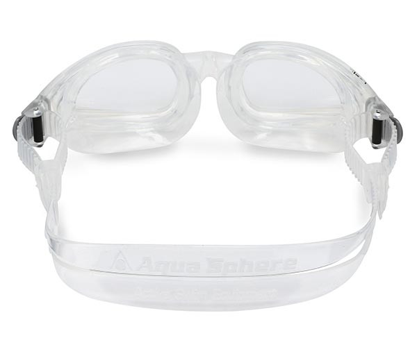 Rear View of Eagle Corrective Lens Swim Goggles