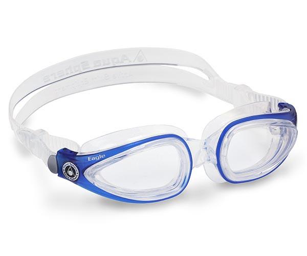 b77c51200c Eagle Prescription Swimming Goggles from Aqua Sphere Australia   Prescription Goggles in Blue ...