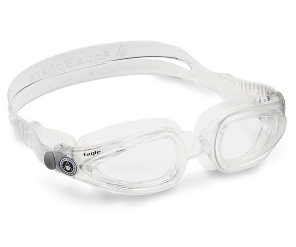 Clear Frame Prescription Swimming Goggles