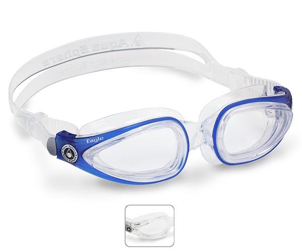 99c46cb281f Eagle Prescription Swimming Goggles from Aqua Sphere Australia
