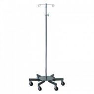 Brewer Large 6-Leg, Steel Base Infusion Pump Stand