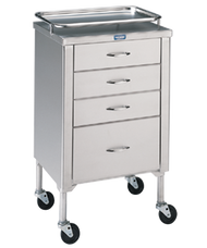 Pedigo P-1105-SS Anesthetist Cabinet with Drawers