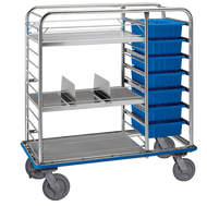 Pedigo CDS-177 Central Supply Cart