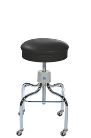Pedigo P-38-W/C Chrome Stool