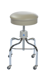 Pedigo P-1038-W/C Stainless Steel Stool