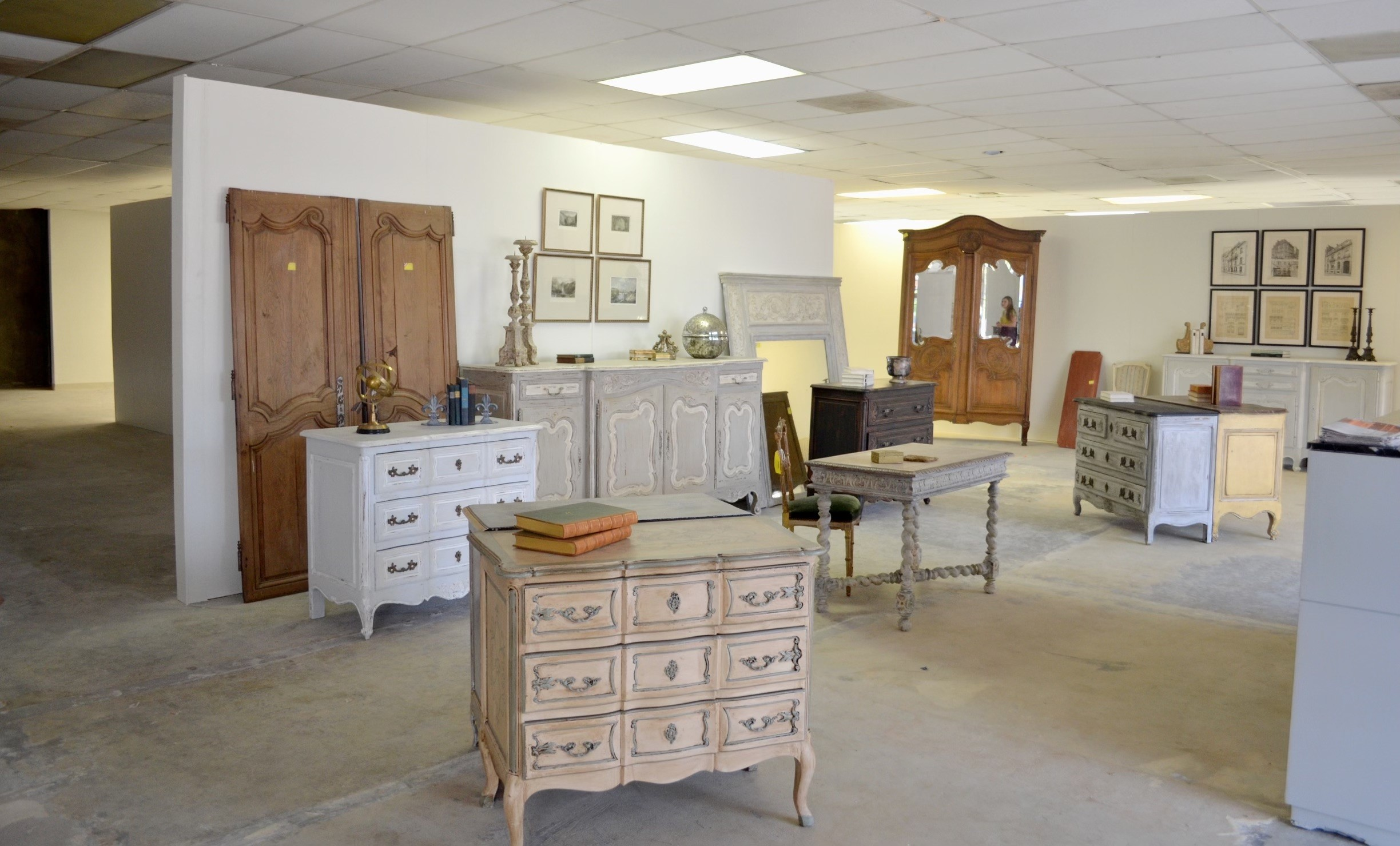 Village Antiques began with eleven pieces of furniture in an empty shop