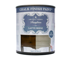 Latte Beige Chalk Finish Paint