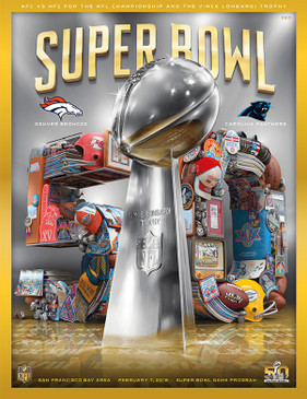 OFFICIAL SUPER BOWL 50 STADIUM PROGRAM (2016)