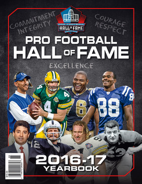 2016-17 PRO FOOTBALL HALL OF FAME YEARBOOK