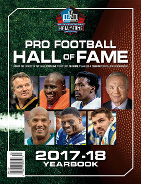 2017-18 PRO FOOTBALL HALL OF FAME YEARBOOK