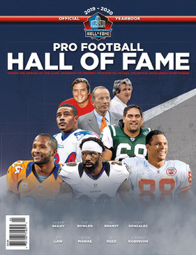 2019-2020 PRO FOOTBALL HALL OF FAME YEARBOOK