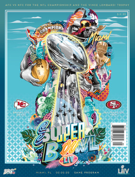 OFFICIAL SUPER BOWL LIV NATIONAL PROGRAM (Kansas City v San Francisco 2020)