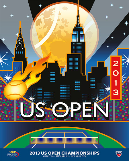 2013 US OPEN THEME POSTERS