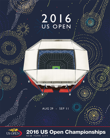 2016 US OPEN THEME POSTER