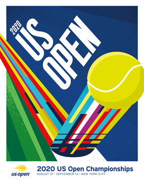 2020 US OPEN THEME POSTER
