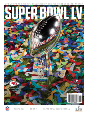 OFFICIAL SUPER BOWL LV NATIONAL PROGRAM (Tampa Bay v Kansas City 2021)