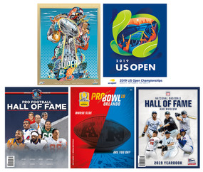 COLLECTIBLE SPORTS PROGRAMS PACKAGE