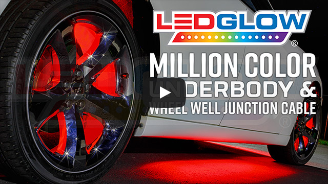 Ledglow Million Color Flexible Led Wheel Well Lights