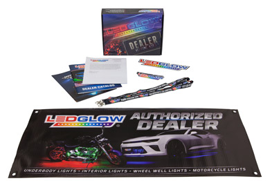 LEDGlow Dealer Welcome Kit