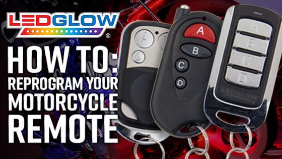 Reprogram Motorcycle Kit Remote