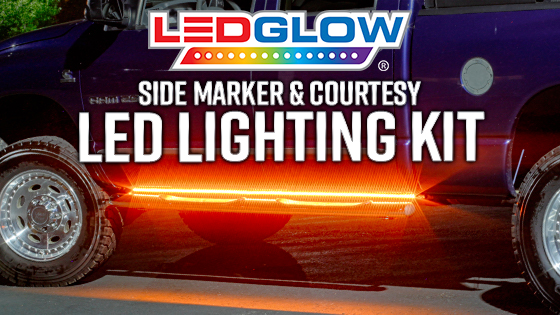 LEDGlow Side Marker & Courtesy Lights Product Video