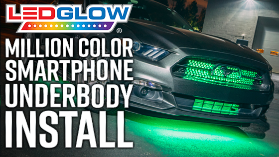 LEDGlow Smartphone Underbody Light Kit Install