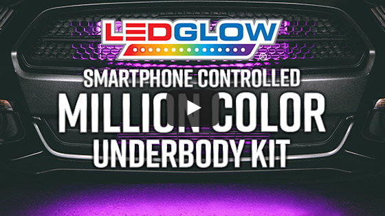 LEDGlow Smartphone Underbody LightKit Product Video