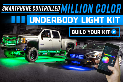 LEDGlow Lighting – LED Underglow Lights & LED Underbody Kits