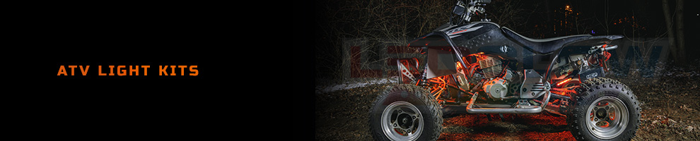 LED ATV Underglow Lights