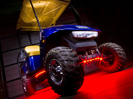 Golf Cart Single Color LED Lighting