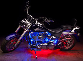 Motorcycle Bluetooth LED Lights